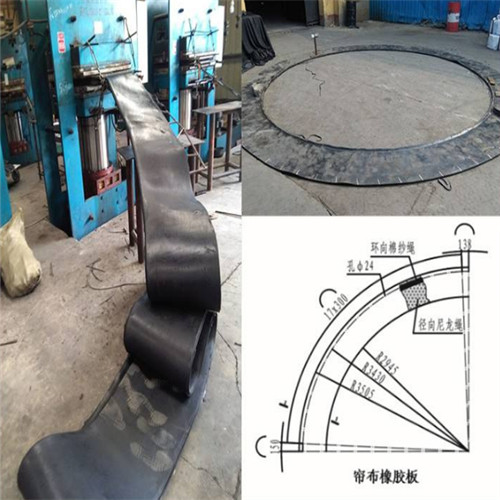 盾构帘布橡胶板 洞门帘布板 橡胶帘布板 帘布密封垫生产厂家