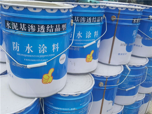 河北水泥基渗透结晶型防水涂料专业生产厂家