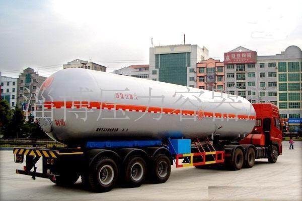 低温液态气体罐车