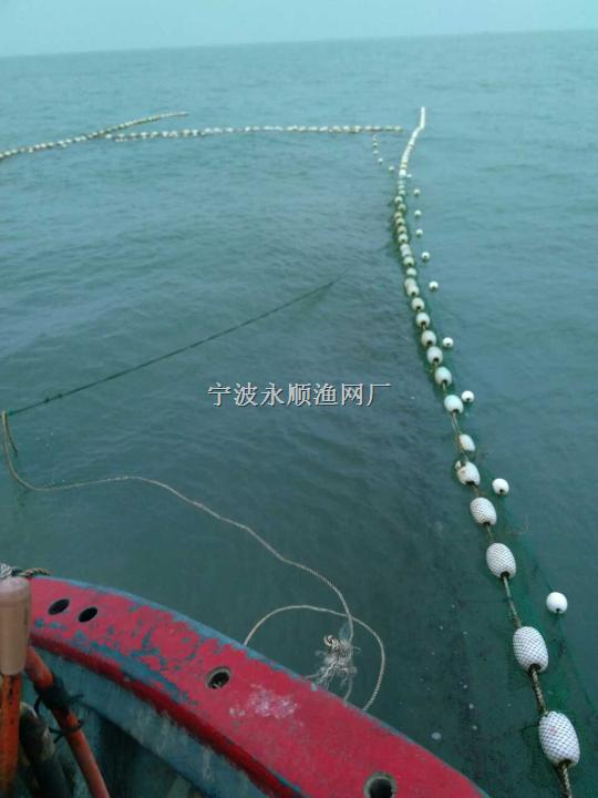 近海捕捞大型迷魂阵定置渔网