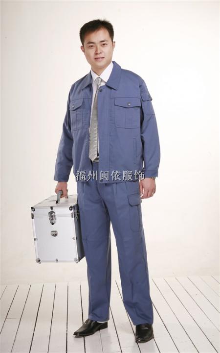 福州市工作服订制,现货工作服,劳保服装,工程服