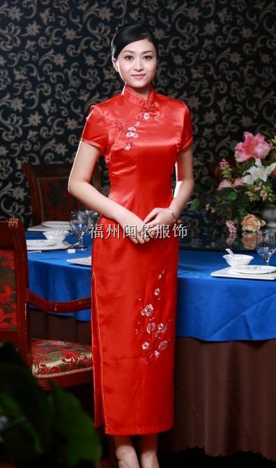 福州市福清酒店旗袍、酒店制服