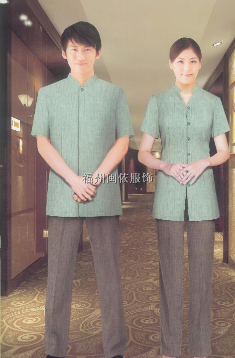 福州市酒店客房部服装、客房制服