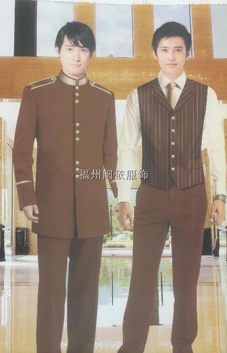 福州市酒店服装系列门童保安服