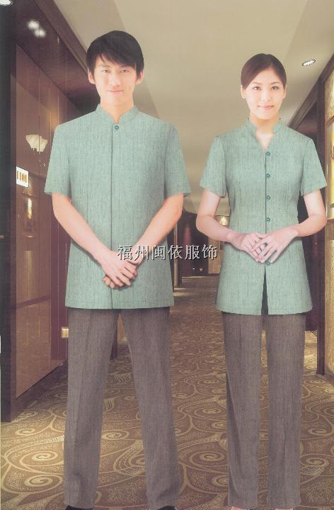 福州市酒店客房服装、酒店制服