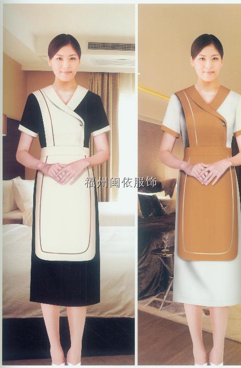 福州市酒店服装、客房服务服装
