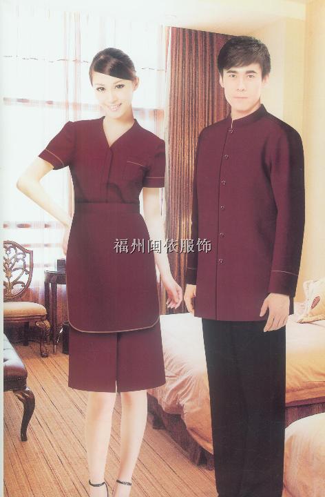 福州市酒店服务客房服装、酒店服装