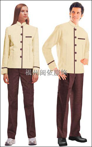 福州市清洁人员服装、PA服装、保洁服