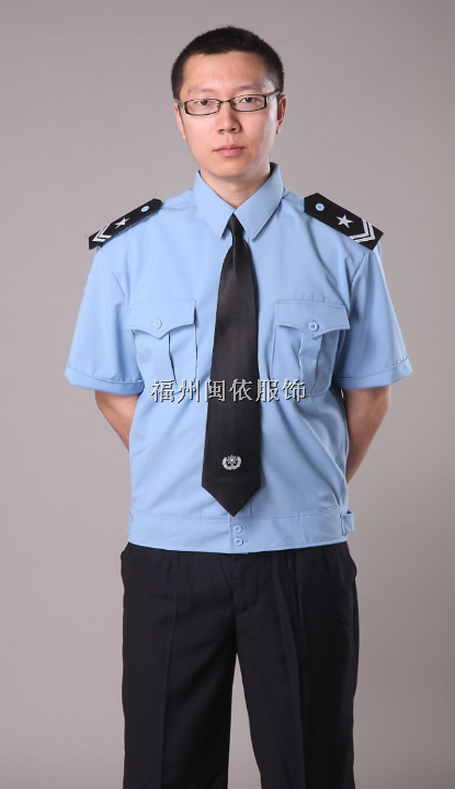 福州市保安服装,物业服装,短袖衬衫