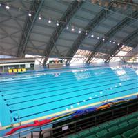 南京奥体中心游泳馆立面窗帘及开启窗