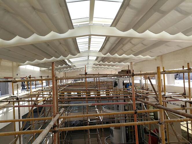 钢结构遮阳棚1