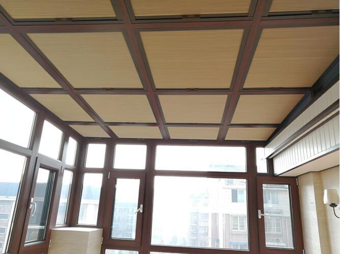 阳台蜂巢遮阳棚