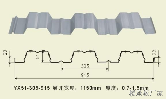 yx51-305-915楼承板