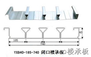 稀少楼承板型号BD40-185-740