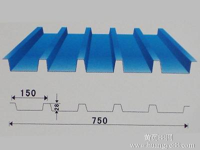 yx28-150-750彩钢铝镁锰墙面板