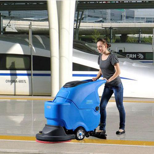 容恩电线式洗地机|手推式洗地机