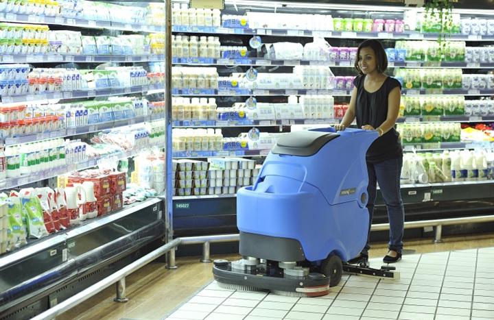 容恩洗地机,双刷电瓶式洗地机R85BT