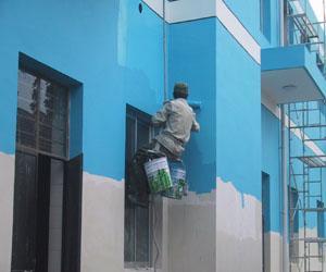 北京专业内外墙刮腻子粉刷 -朝阳区内墙粉刷-朝阳楼层飘窗漏水怎么办?