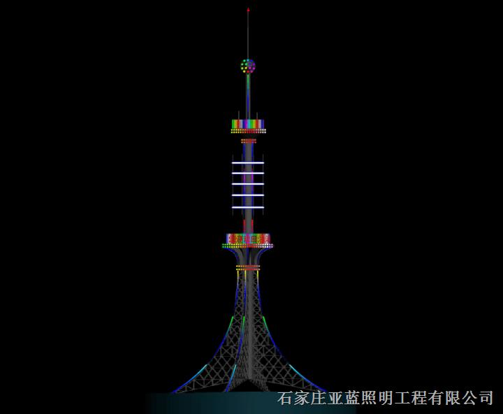 石家庄专业楼体亮化照明厂家电话 13931198838
