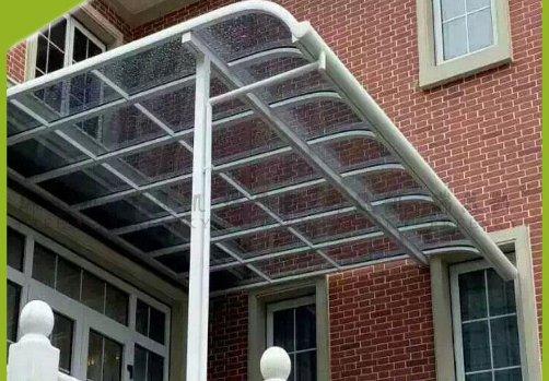 长沙铝合金窗台棚制作