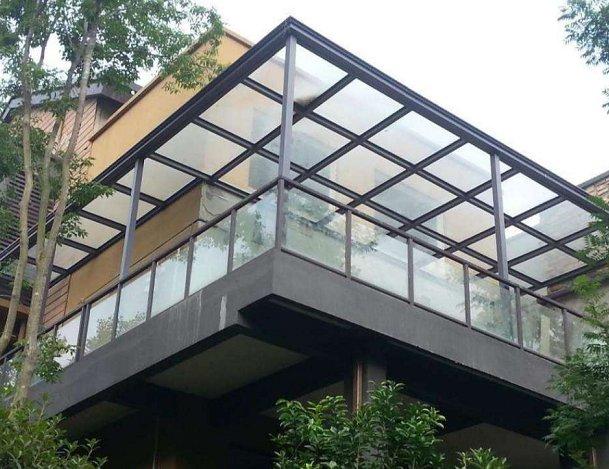 铝合金窗台棚