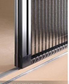 成都无轨折叠隐形纱窗折叠纱门窗