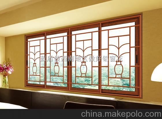 成都铝窗花防护铝窗花整体效果