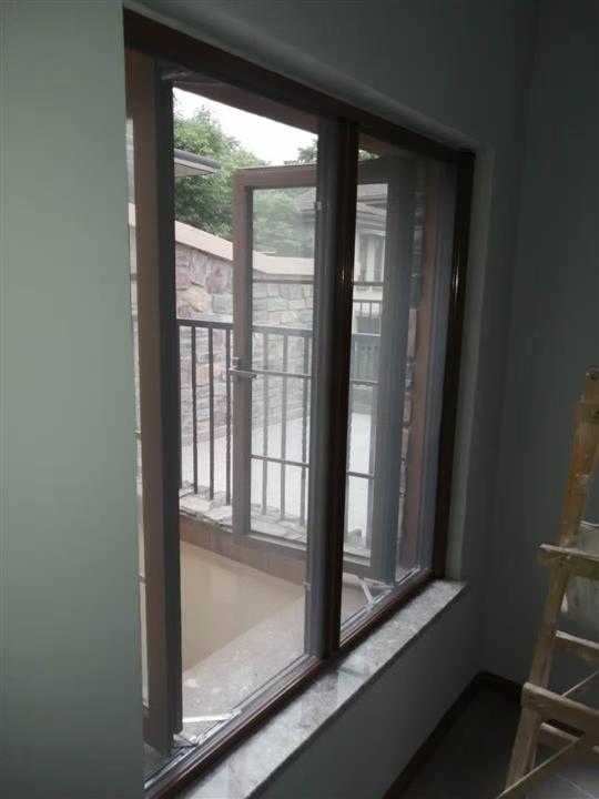 中海龙湾半岛纱窗