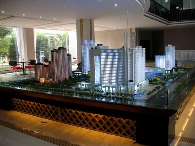 吉林模型沙盘、长春房地产模型沙盘
