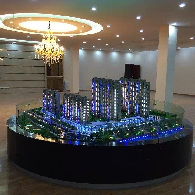 长春最新房地产模型沙盘建筑模型