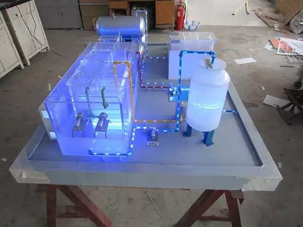 水晶模型沙盘