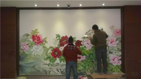南京酒店壁画A 南京油画壁画