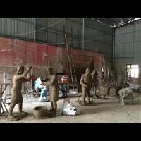 艺陶缘雕塑现场