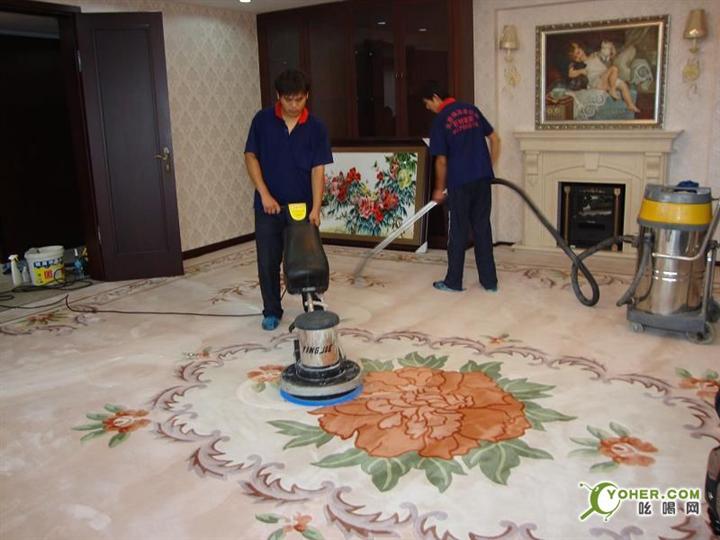 漳州保洁公司-地毯清洗